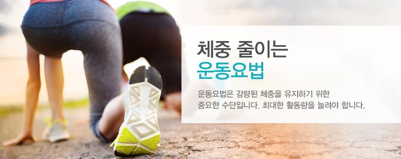 체중 줄이는 운동요법