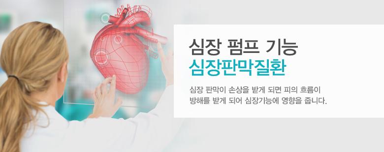 심장 펌프 기능 심장판막질환