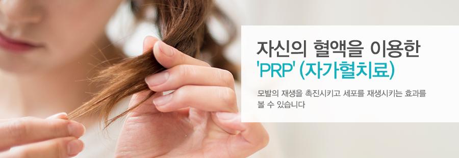 자신의 혈액을 이용한'PRP'(자가혈치료)